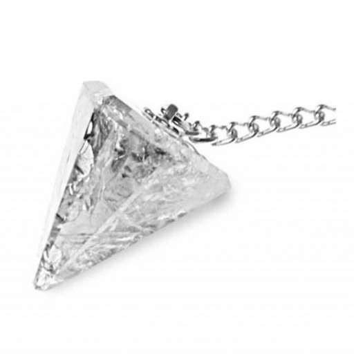 Péndulo Facetado Cristal de Roca