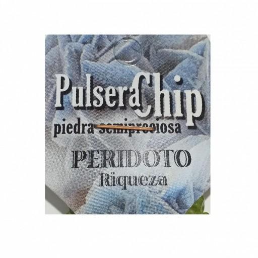 Pulsera Chip Peridoto [1]