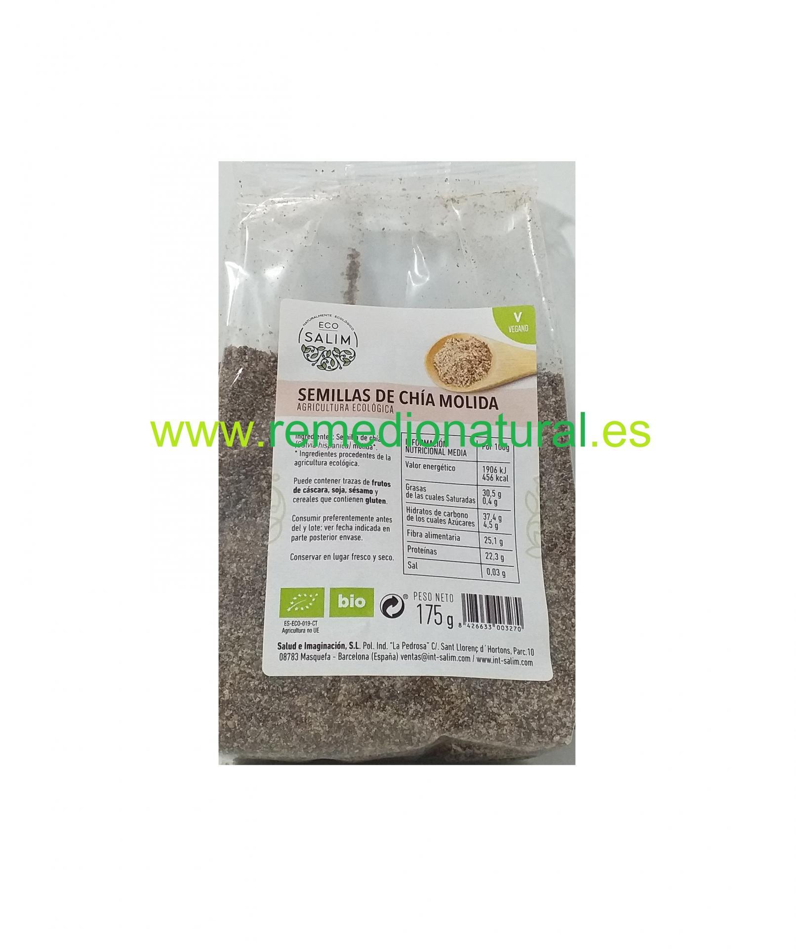 Semillas de Chía Molidas Eco 175g