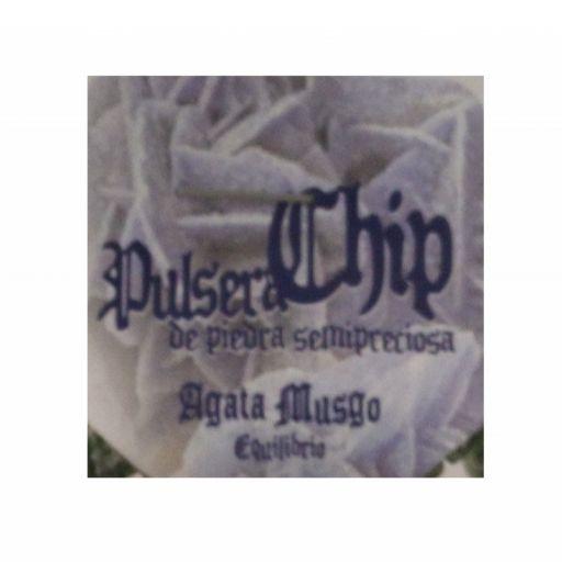 Pulsera Chip Agata Musgo [2]