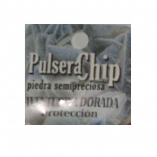Pulsera Chip Aventurina Dorada [1]