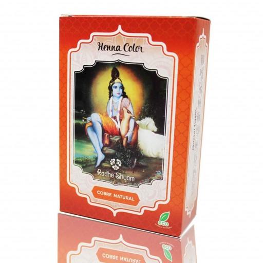 Henna Radhe Shyam Cobre Natural Polvo [0]