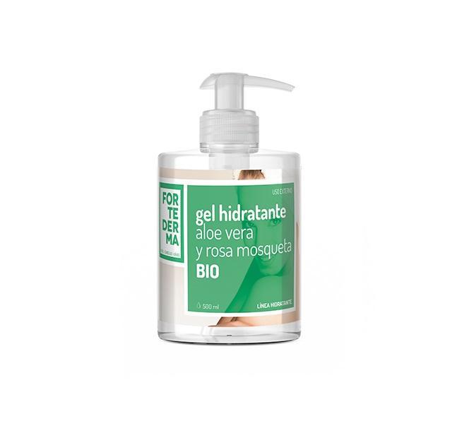 Gel Hidratante Aloe Vera y Rosa Mosqueta Bio