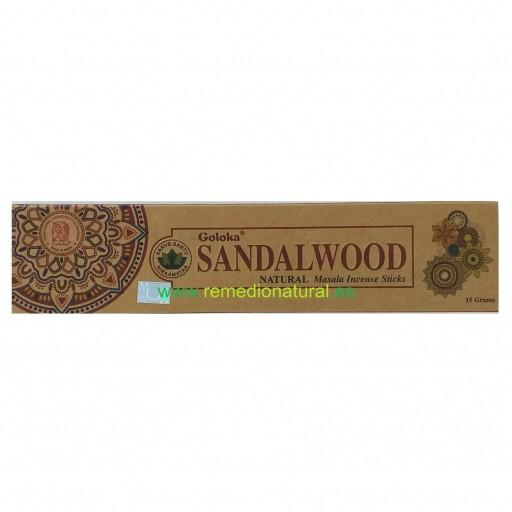 Incienso Orgánico Goloka Sandalwood