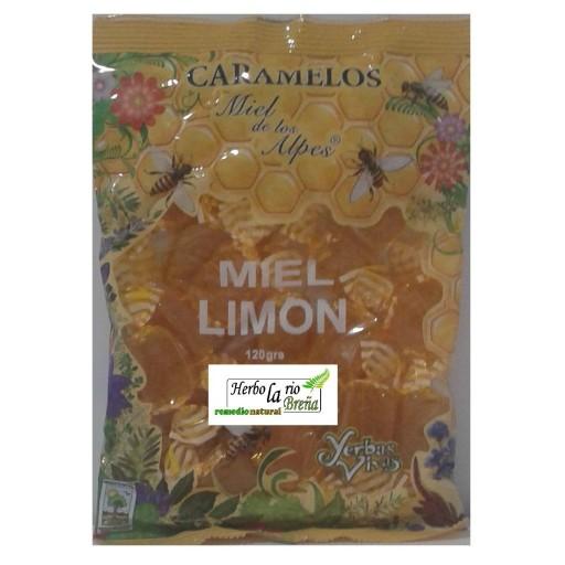 Caramelos Miel y Limón