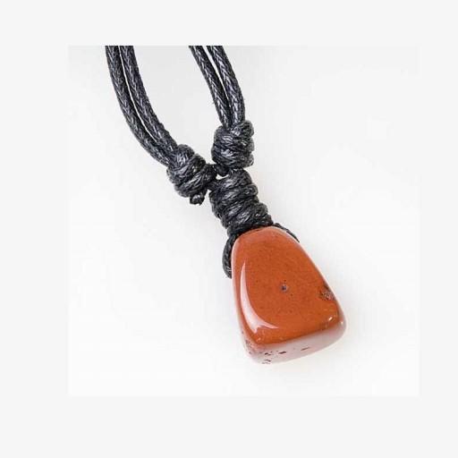 Piedra Colgante Jaspe Rojo