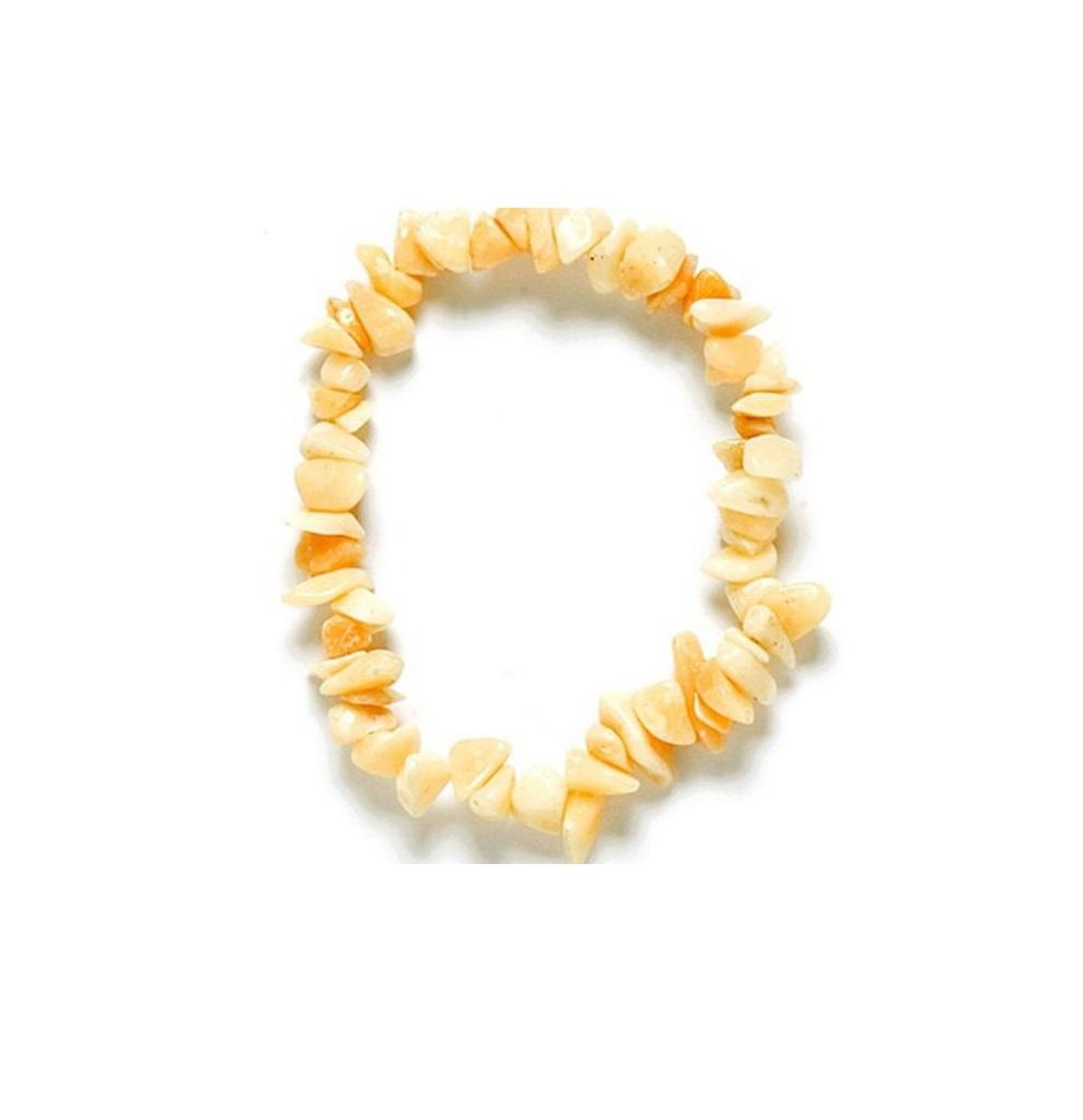 Pulsera Chip Jade Amarillo