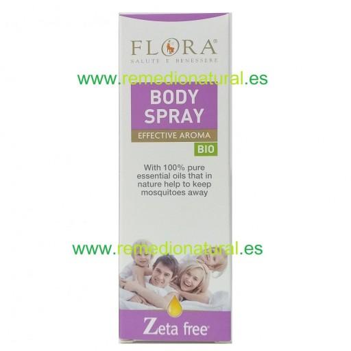 Spray Corporal Antimosquitos Flora 100ml