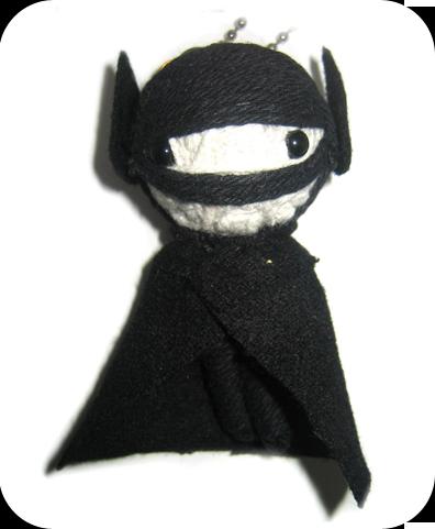 BAT BOY Voodoodoll