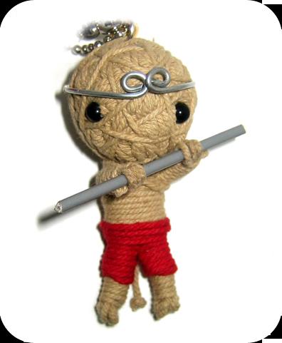 THE KING OF MONKEY Voodoodoll