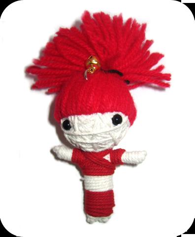 RED HAIR GIRL Voodoodoll