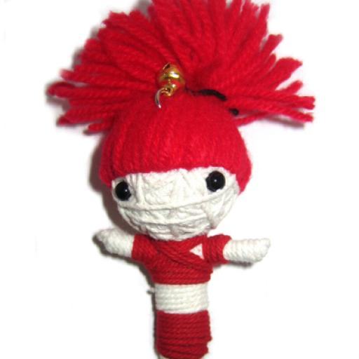 RED HAIR GIRL Voodoodoll
