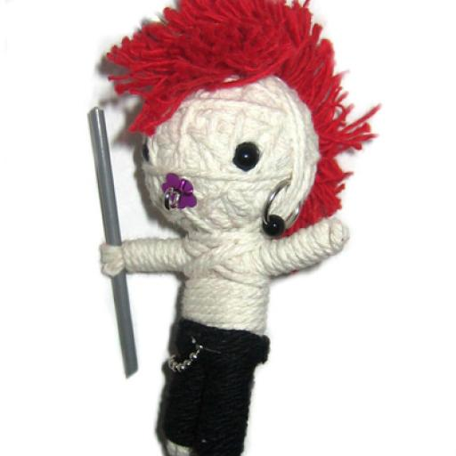 PUNK POWER Voodoodoll