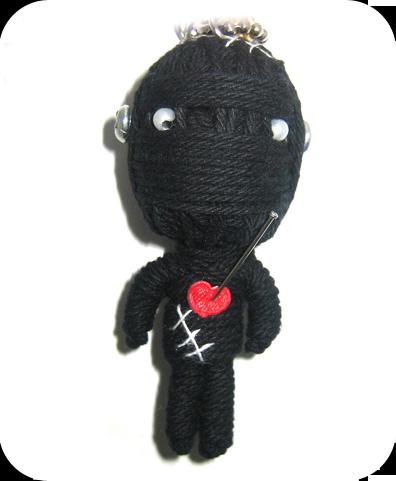 BLACK MR. FRANKEN Voodoodoll
