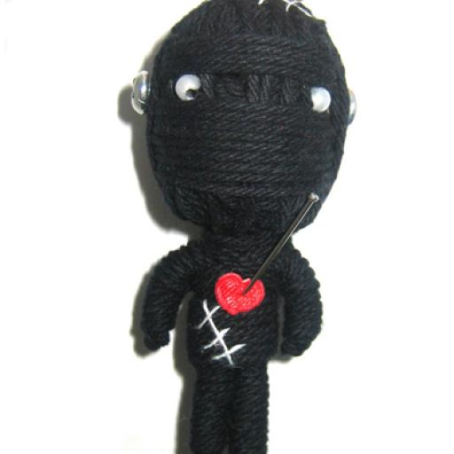 BLACK MR. FRANKEN Voodoodoll