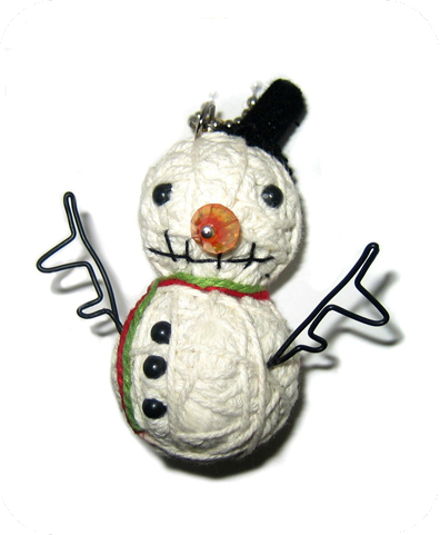 SNOWMAN Voodoodoll