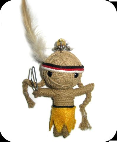 INDIAN SOLDIER Voodoodoll