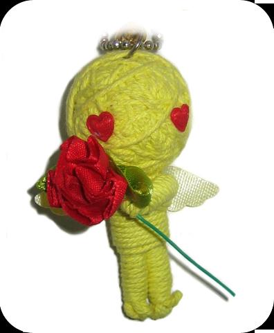FLOWER POWER Voodoodoll
