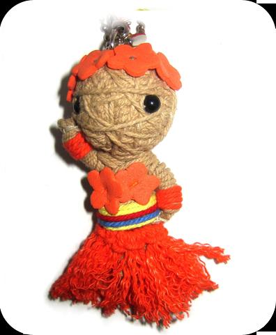 HAWAIIAN GIRL Voodoodoll