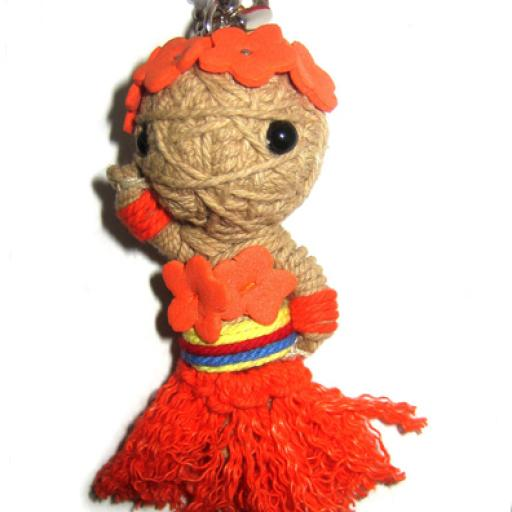 HAWAIIAN GIRL Voodoodoll