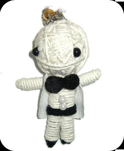 WHITE GROOM Voodoodoll