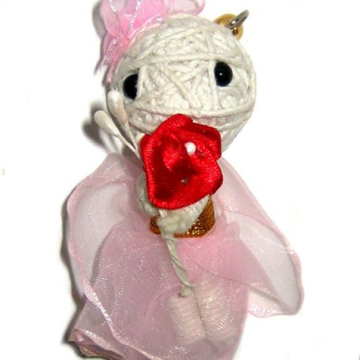 PINK BRIDE Voodoodoll