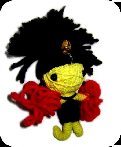 CHEERLEADER Voodoodoll