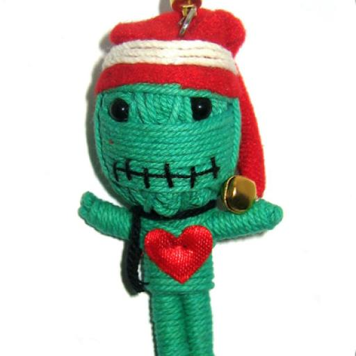 GREEN ELF Voodoodoll [0]