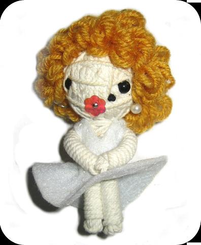 MARILYN Voodoodoll