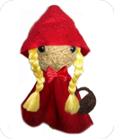 LITTLE RED RIDING HOOD Voodoodoll