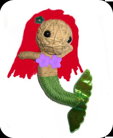 THE LITTLE MERMAID Voodoodoll