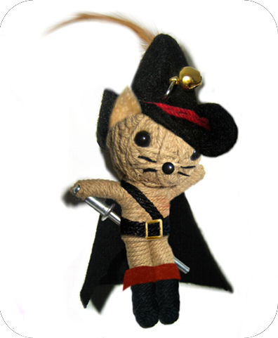 PUSS IN BOOTS Voodoodoll