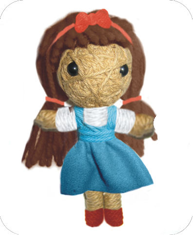 THE WIZARD OF OZ Voodoodoll