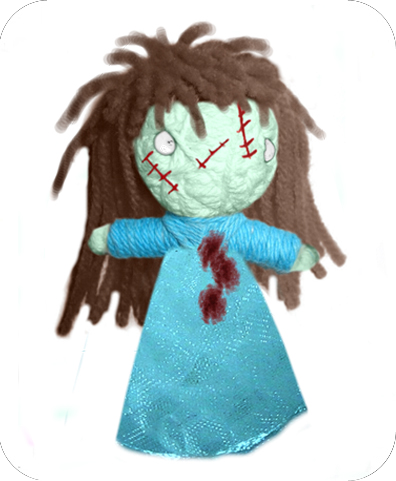 THE EXORCIST Voodoodoll