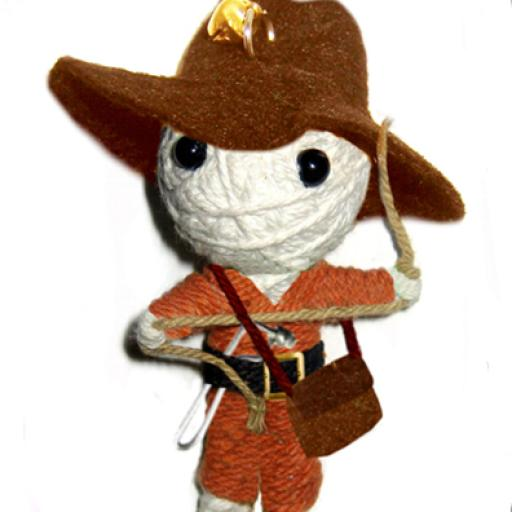 INDIANA JONES Voodoodoll