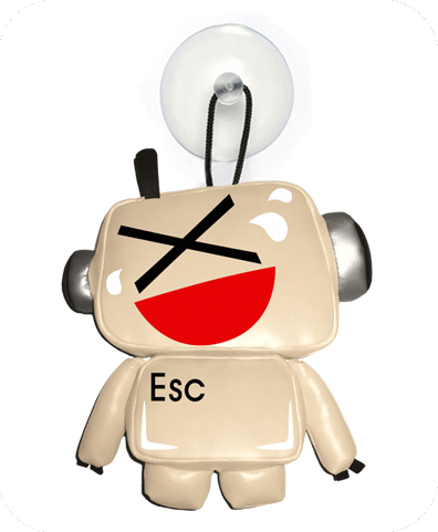 EMOTICBOT Suction cup