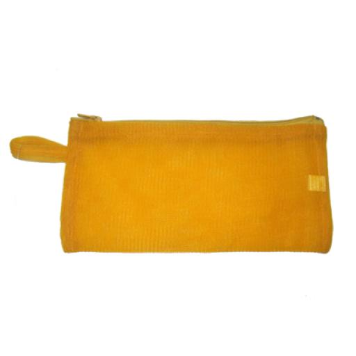 Estuche rectangular amarillo