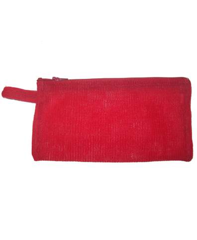 Estuche rectangular rojo