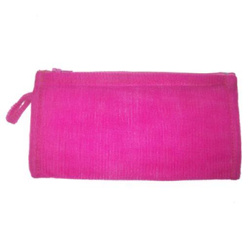 Estuche rectangular rosa