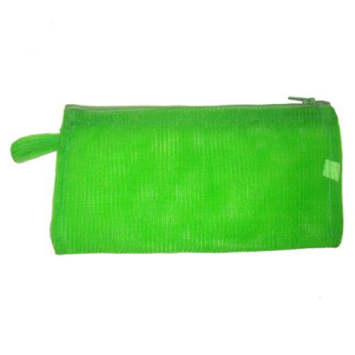 Estuche rectangular verde