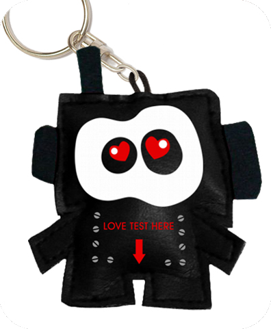 LOVERBOT key chain