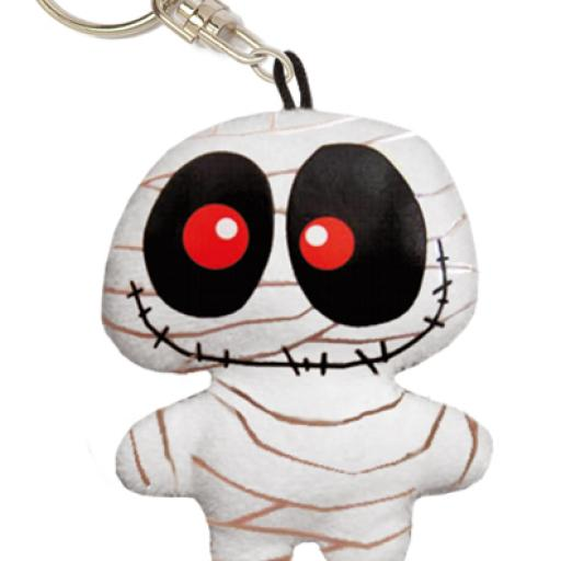 RECYCLED PAPER MUMMY key chain