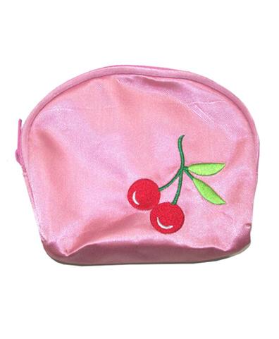 Monedero Cherry rosa