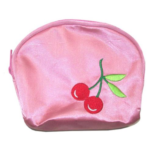 Monedero Cherry rosa