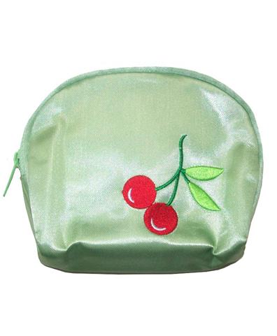 Monedero Cherry verde