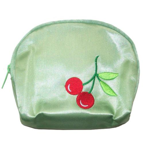 Monedero Cherry verde
