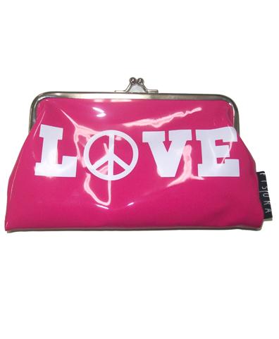 Monedero LOVE rosa