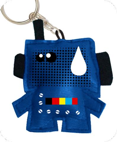 RETROBOT key chain