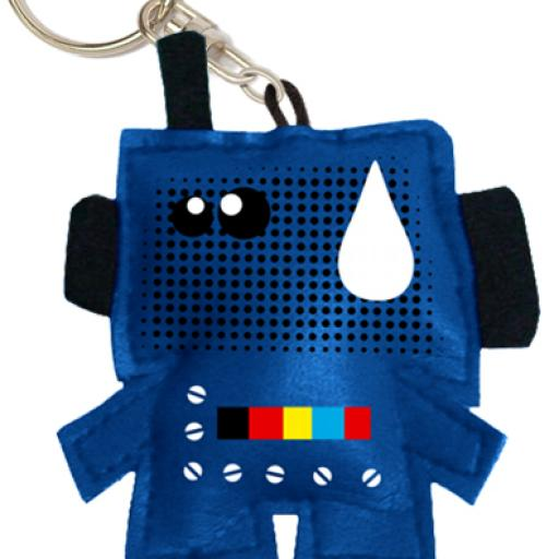 RETROBOT key chain