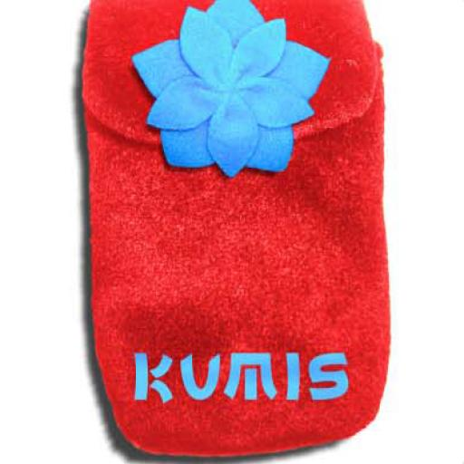 PLUSH POCKET ROJA
